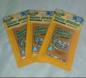 Wacky-Packages-ANS3-2006-Blister-Rack-Packs-3-6-Sealed-Card-Packs