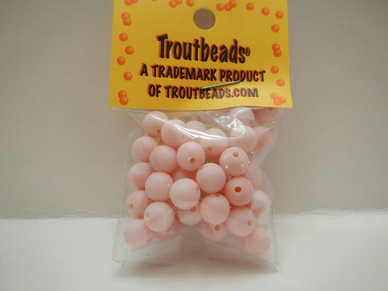 Troutbeads Mottlebeads Cotton Candy  6-10mm Trout Bead $2.50 US Combined Ship