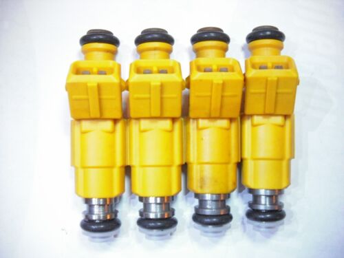 Flow Matched Refurbished Fuel Injectors # 0280155700 Ford Bosch Set of Four