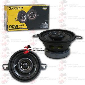 "KICKER CSC354 3.5"" 3.5-INCH 2-WAY CAR AUDIO COAXIAL SPEAKERS (PAIR) 43CSC354"