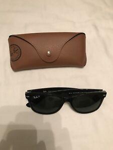 2c9e364c7303 Polarized Ray-Ban RB3025 002 58 Aviator Classic Black Sunglasses