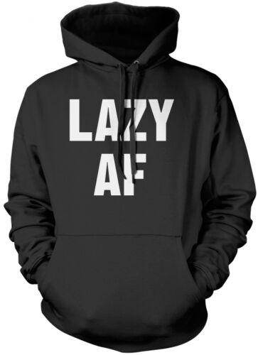 Funny Teenager Unisex Hoodie Lazy AF