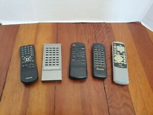 TV-Remotes-Marantz-Generic-DVD-Magnavox-Technics-Lot-of-5