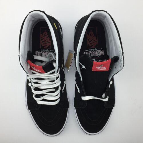 Huesos Sk8 Reissue Zapatos Negro Vans mujer hi peanuts Hombre 4a1ppI