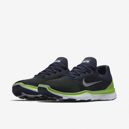 9f062ea12b5ad BRAND NEW Nike Free Trainer V7 NFL Seattle Seahawks Blue Green Men s Shoes  sz 14