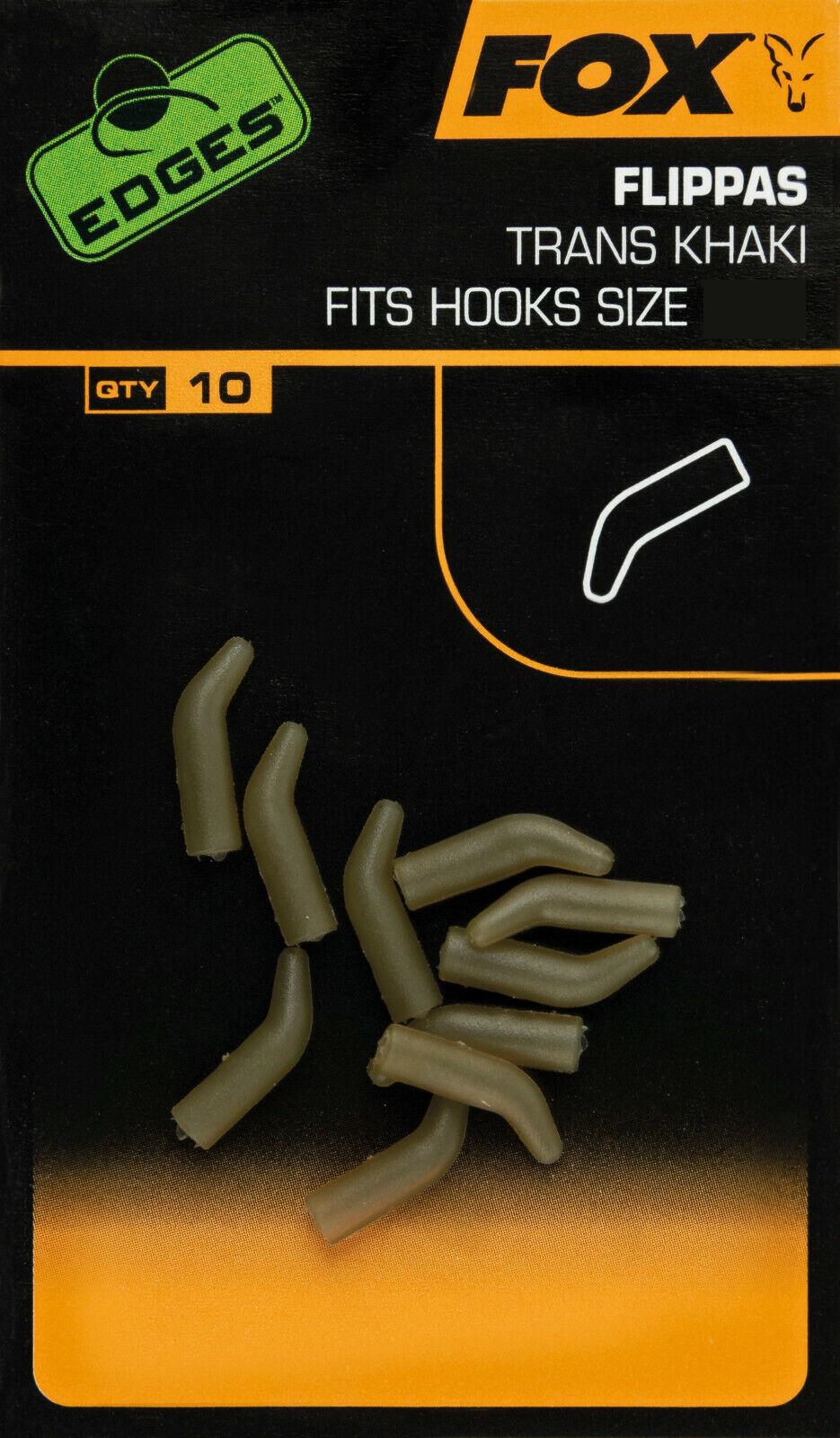 Fox Edges Short Line Alignas Trans Khaki Hook Size 6 5 4 3 2 1 Hakengröße