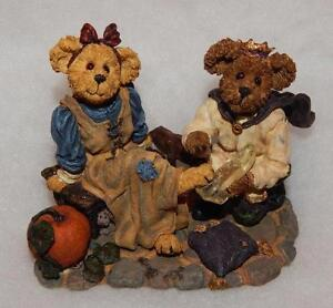 BOYDS BEARYTALES CINDYRELLA & PRINCE CHARMING...IF THE SHOE FITS