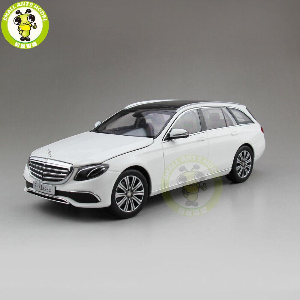 1 18 iScale Mercedes Benz Clase E KLASSE Vagón Diecast Modelo Coche Regalo biancao