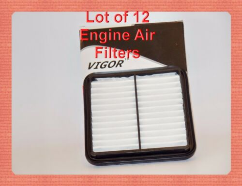 Lot 12 Engine Air Filters A25393 Fits TOYOTA Prius Hybrid 200-2003 4cyl 1.5L