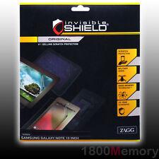 ZAGG Invisible Shield Original Screen Protecror f Samsung Galaxy Note 10.1 Front