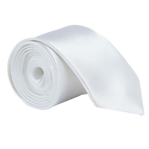New Casual Slim Plain Mens Solid Skinny Neck Party wedding Tie Silk Necktie