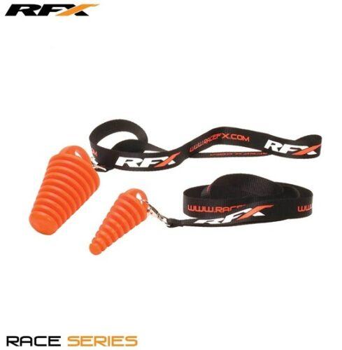 Includes RFX Lanyard Motocross RFX Race Exhaust Bung 4 Stroke Orange