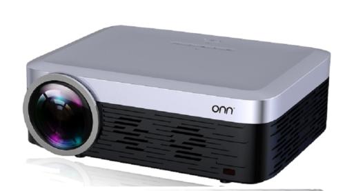Onn Full HD 1080p Portable Projector 3100 Lumens w/ Roku Str