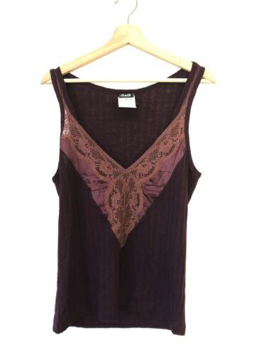 Dolce & Gabbana Ittierre Tank Top Silk Lace size X