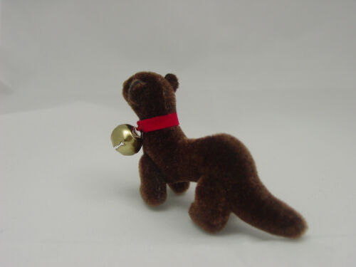 "World of Miniature Bears 2/"" Plush Ferret Brown #992BR Collectible Ferret"
