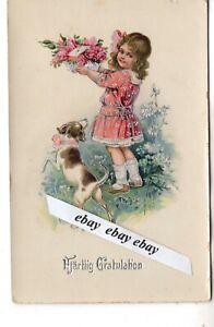 Early 1900 Beautiful Antique Greetings Postcard Sweden Swedish Ebay