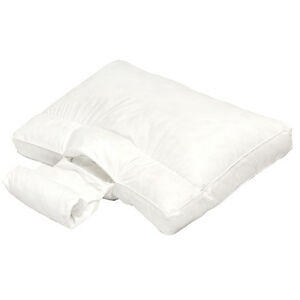 Adjustable Neck Support Bed Pillow W Memory Foam Amp Pearl