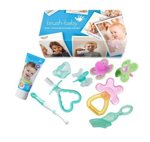 PINK Brush-Baby Teething Gift Set