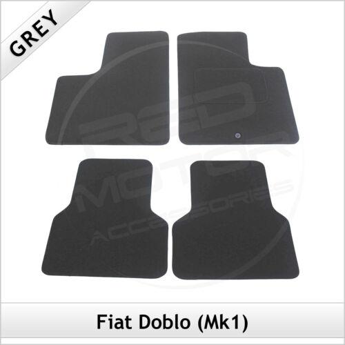 FIAT DOBLO Mk1 2001-2010 Tailored Fitted Carpet Car Floor Mats GREY