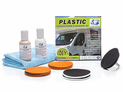 Plastic, Acrylic Restoration DIY Kit, Repair Scratches, Hazy, Foggy Surface