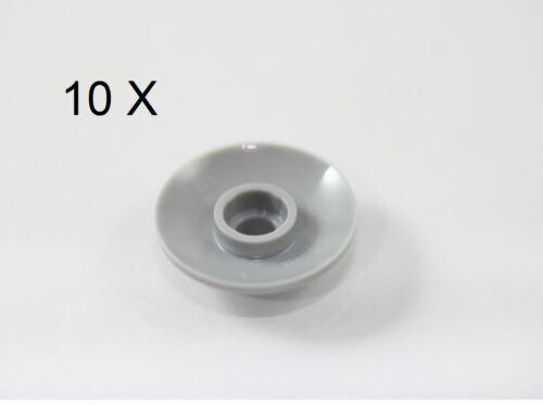 LEGO® Light Gray Dish 2 x 2 Inverted Radar Design ID 4740