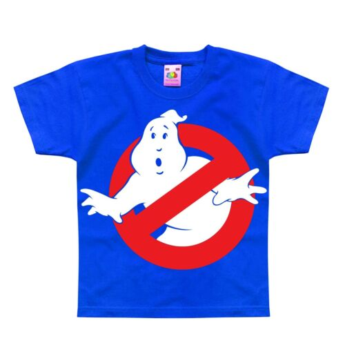 Ghost Busters Movie Inspired Funny Retro Vintage Kids T-Shirt 1-2 to 12-13 Years