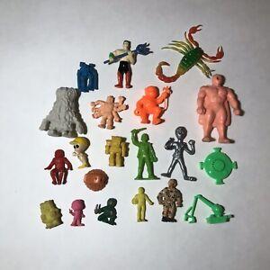 Vintage-Gumball-M-u-s-c-l-e-Men-Vending-Figure-Lot