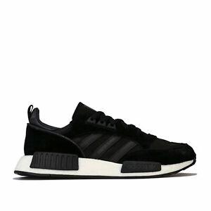Détails sur Homme Adidas Originals Boston R1 Trainers in Core NoirUtility BlackSolar afficher le titre d'origine