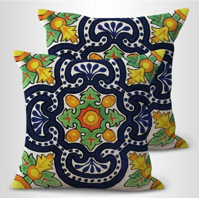 Pillow Outdoor Risa Rounded Seat Cushion Lemonade Set Of 2 For Sale Online Ebay