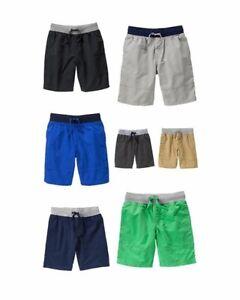 NWT Gymboree Boys Lightweight Drawstring Pull-On Shorts Short NEW U-Pick 8 10 12