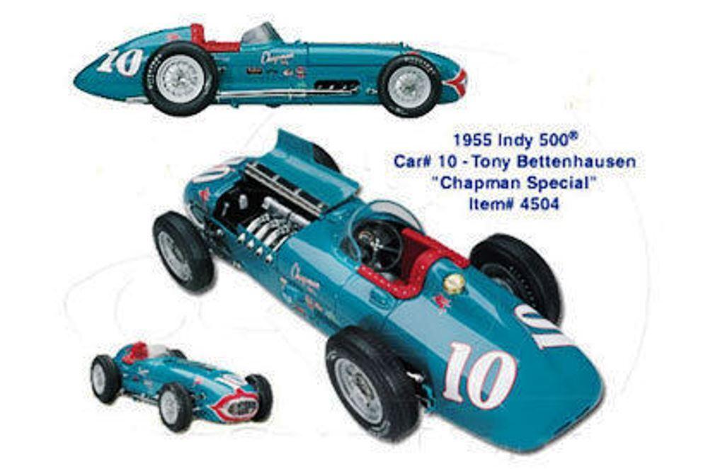 CAROUSEL 1 INDY 500 race cars 4702 Eagle 4703 Cobra Eagle & 4504 Kurtis 1 18th