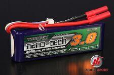 Turnigy nano-tecnología 3000 Mah 4s 14.8 v 25-50c batería LiPo RC coche helicóptero avión