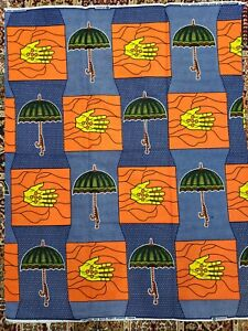 100/% Cotton High Quality African Ankara Wax Print Sell by 6 Yards