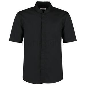 Bargear-Bar-Shirt-Mandarin-Collar-Short-Sleeve