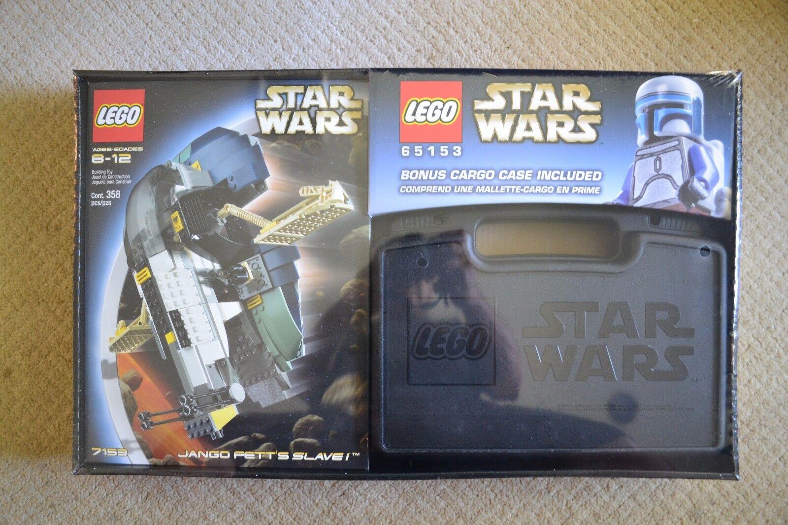 Lego Star Wars 65153 (7153) Jengo Fett's Slave 1 Con Funda De Carga-Sellado-Raro
