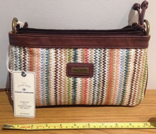 Tom Fronted Cross Tailor Rrp £45 Woven Woman's Bnwt Bag body trqftPw