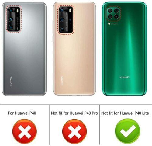 Coque Gel TPU transparente souple anti choc Huawei P40 Lite Transparent