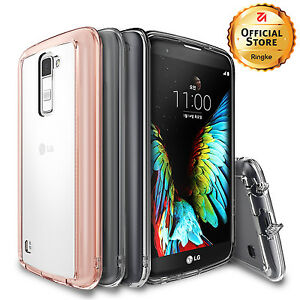 competitive price 9cac0 4828d Details about For LG K10 Case   Ringke FUSION Clear Resistance Shockproof  Protective Case