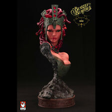 HAND MADE OBJECT Beastly Beauties Medusa 1:2 Scale Bust Statue SEALED NEW