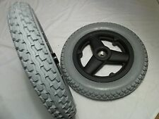 "Quickie Power Wheelchairs Drive Wheels 12-1/2""x2-1/4"" Foam-Filled Mobility Tires"