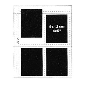 Matin-25-x-Clear-Sheet-Slide-4X5-034-9X12-cm-Mount-Film-Archival-Storage-Pages-h