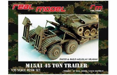 1//35th Real Model US M15A1 trailer conv