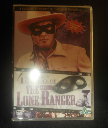 1 of 1 - The Lone Ranger VOL 1 / - 4 Classic Episodes on one disc sealed