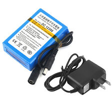 BATTERIE RECHARGEABLE 12V Li-ion 3000mAh + CHARGEUR BATTERY ACCU LITHIUM PLUG EU