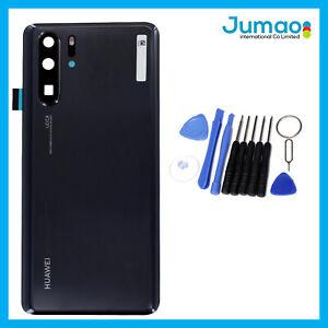 Vitre-arriere-capot-cache-batterie-Noir-lentille-adhesif-Pour-Huawei-P30-Pro