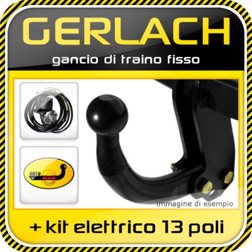 kit elettrico 13 poli Per Fiat Multipla 1998-2004 gancio di traino fisso