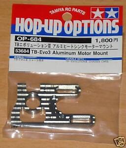 Tamiya-53684-TB-Evo-3-aluminum-motor-mount-TB-Evolution-III-nip
