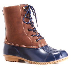 f9aa114e741f0d Details about London Fog Wonder Duck Women Boots NEW Size US 6 8 10