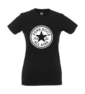 Punk Rock All Star I Fun I Lustig I Sprüche I Girlie Shirt