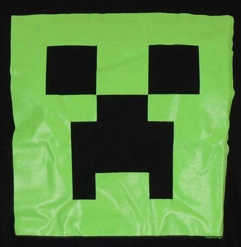 Minecraft T-shirt Boys /& Girls 13-14 Glow Creeper